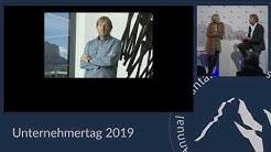 Sabine Christiansen & Jochen Zeitz im Interview – Unternehmertag 2019   Unternehmertag.org