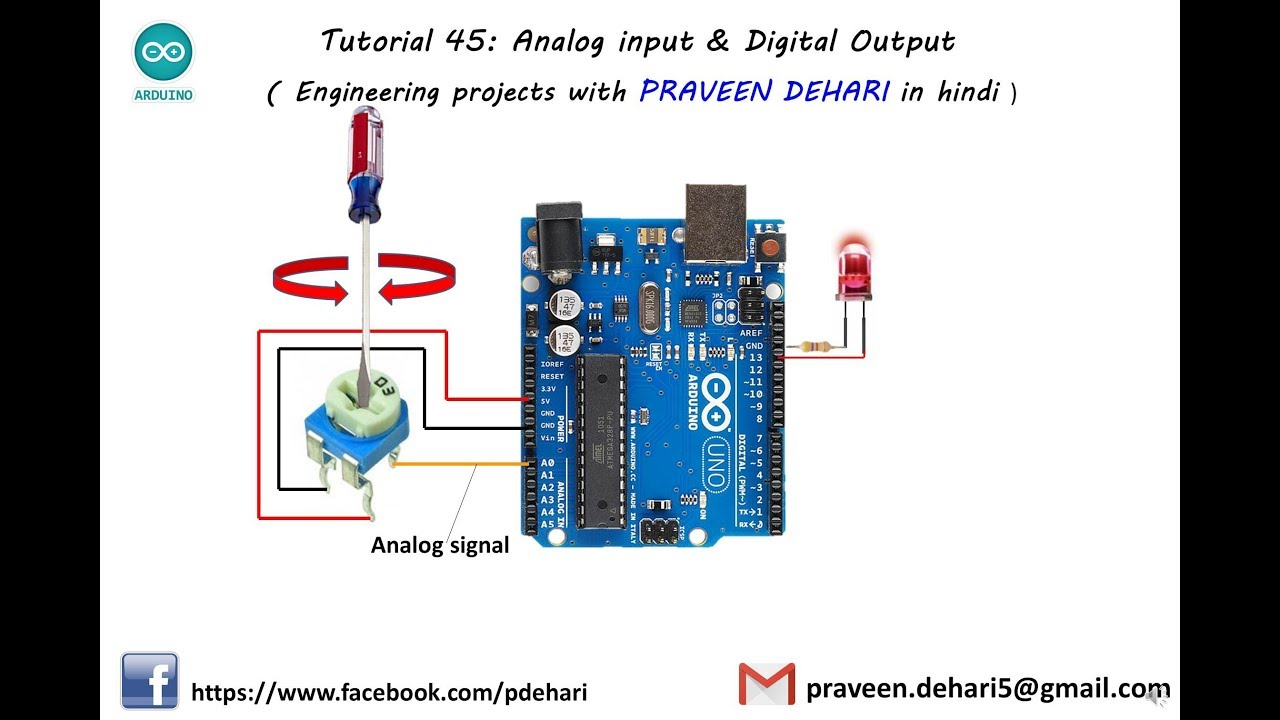 arduino analog input