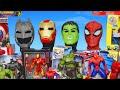 Superhero Toys: Batman, Spider man, Avengers & Hulk Toy Vehicles Unboxing for Kids