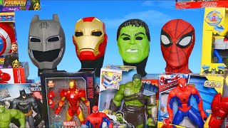 Superhero Toys: Batman, Spider man, Avengers & Hulk Toy Vehicles Unboxing for Kids