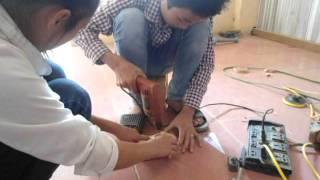 Sản phẩm máy quét mạng nhện của trường THCS Yên Khương