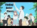 AMV Koe no Katachi - Finding Better Places (Ivan B)
