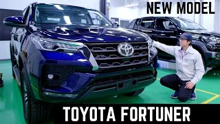 2020 Toyota Fortuner Facelift 7-Seater SUV India - Latest Features, New Interiors   Toyota Fortuner