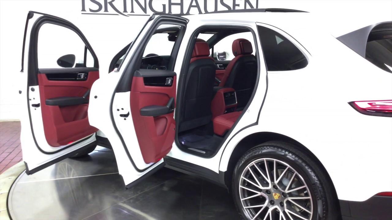 2019 Porsche Cayenne In White 14948 Youtube