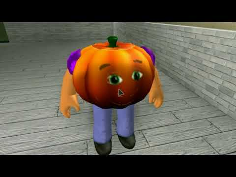 HUNGRY PUMPKIN IN ROBLOX!? PART 2