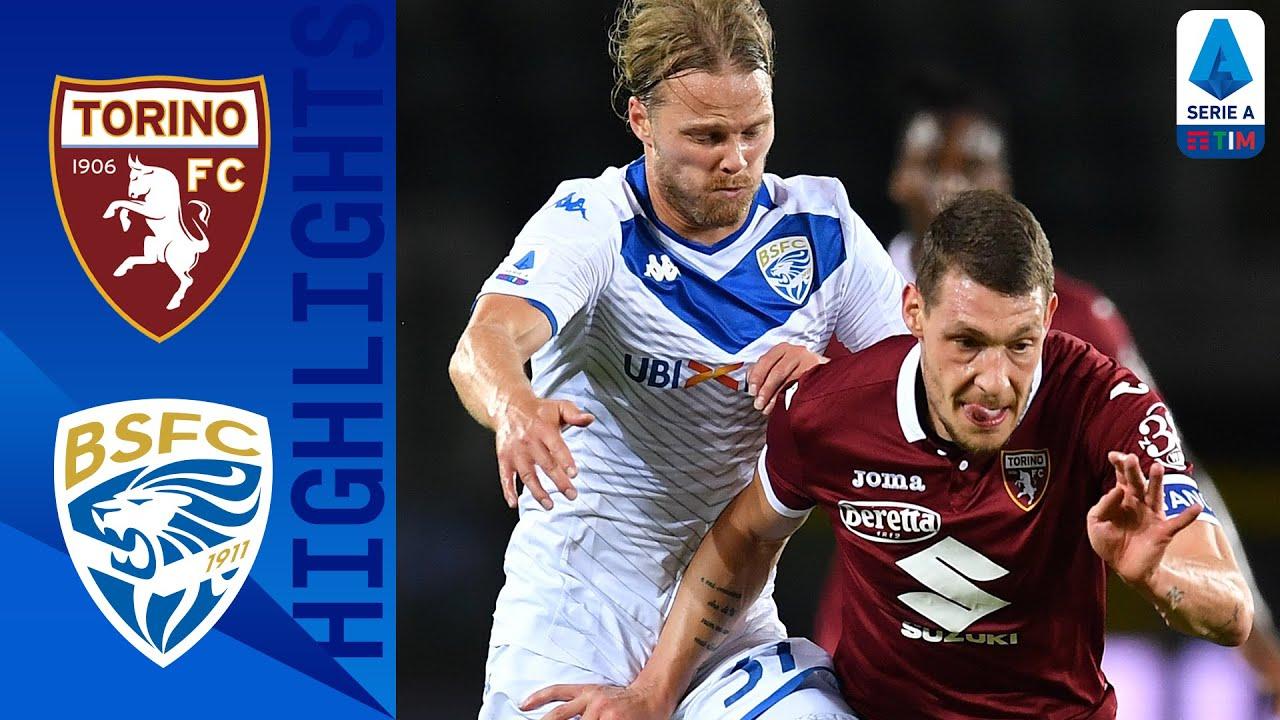 Torino 3-1 Brescia | Belotti and Zaza Net as Torino Record Important Home Win! | Serie A TIM