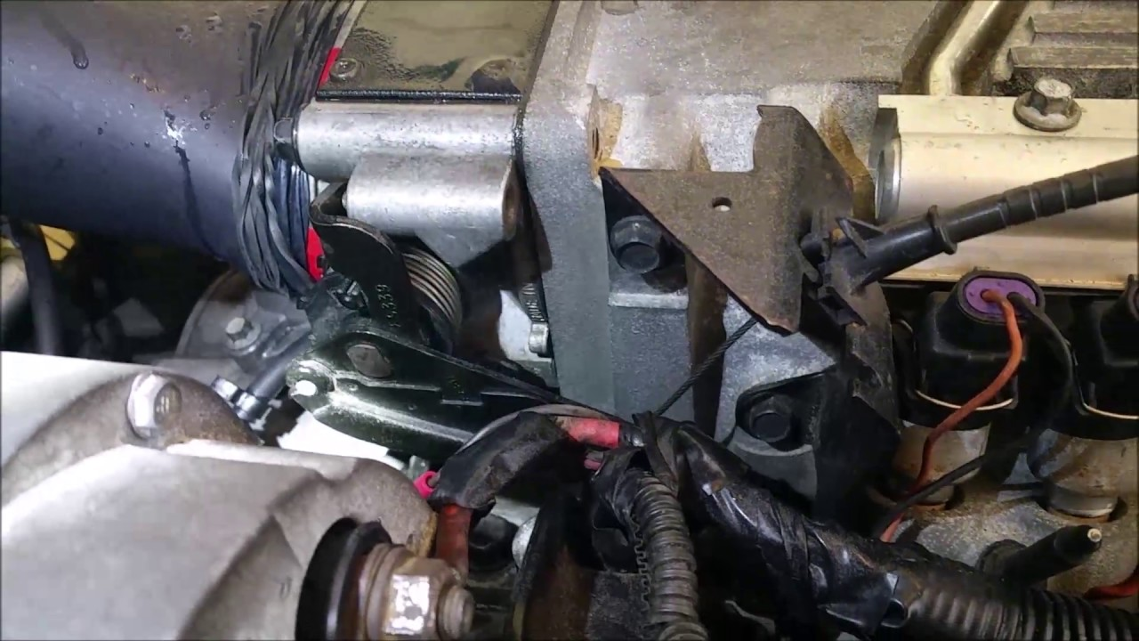 1995 c4 corvette restoration vacuum leak found  [ 1280 x 720 Pixel ]