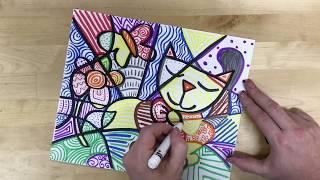 Elementary Art - Romero Britto Drawing