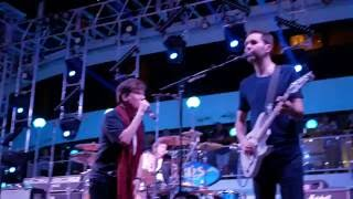 """Live performance of Mr. Big's """"Green Tinted Sixties Mind"""" on the Mo..."""