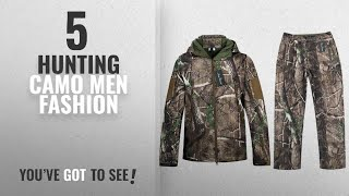 Top 10 Hunting Camo [Men Fashion Winter 2018 ]: Camo Jacket New View Waterproof Hunting Camouflage