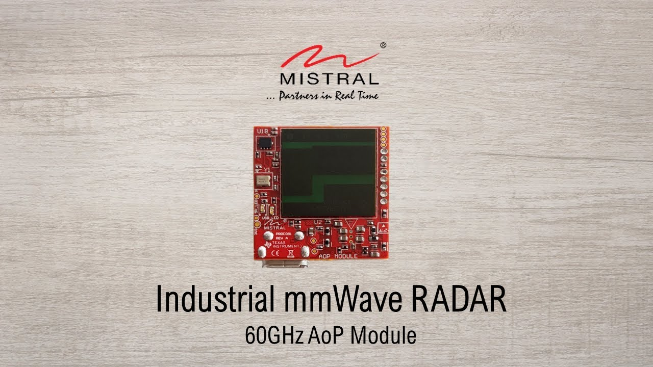 60 GHz Industrial AoP Radar on Module