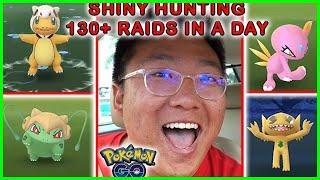 MY BEST SHINY HUNTING DAY AFTER 130+ RAIDS [Singapore, Pokemon GO]