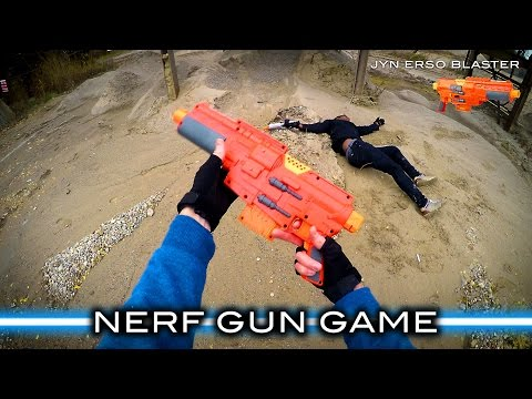 Thumbnail: Nerf meets Star Wars: Gun Game (First Person in 4K!)