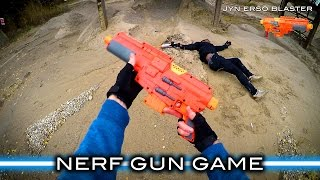 Nerf meets Star Wars: Gun Game (First Person in 4K!)(A Nerf War combines Star Wars and Call of Duty's Gun Game! The first person through all ten weapons win. Featuring several of the Star Wars Nerf blasters, the ..., 2016-12-15T19:00:04.000Z)