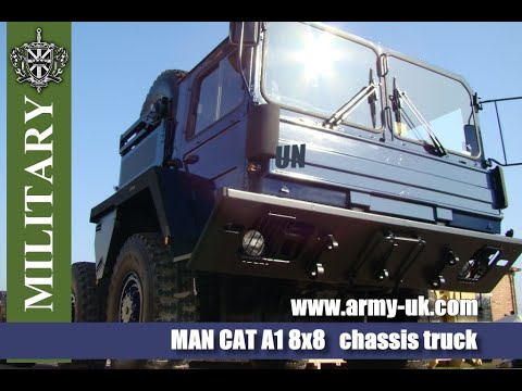 MAN CAT A1 8x8  all terrain chassis military truck