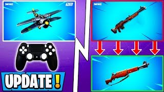 *NEW* Fortnite Update! | 7.40 Weapon and Vaults, Planes, Season 8 Iceberg!