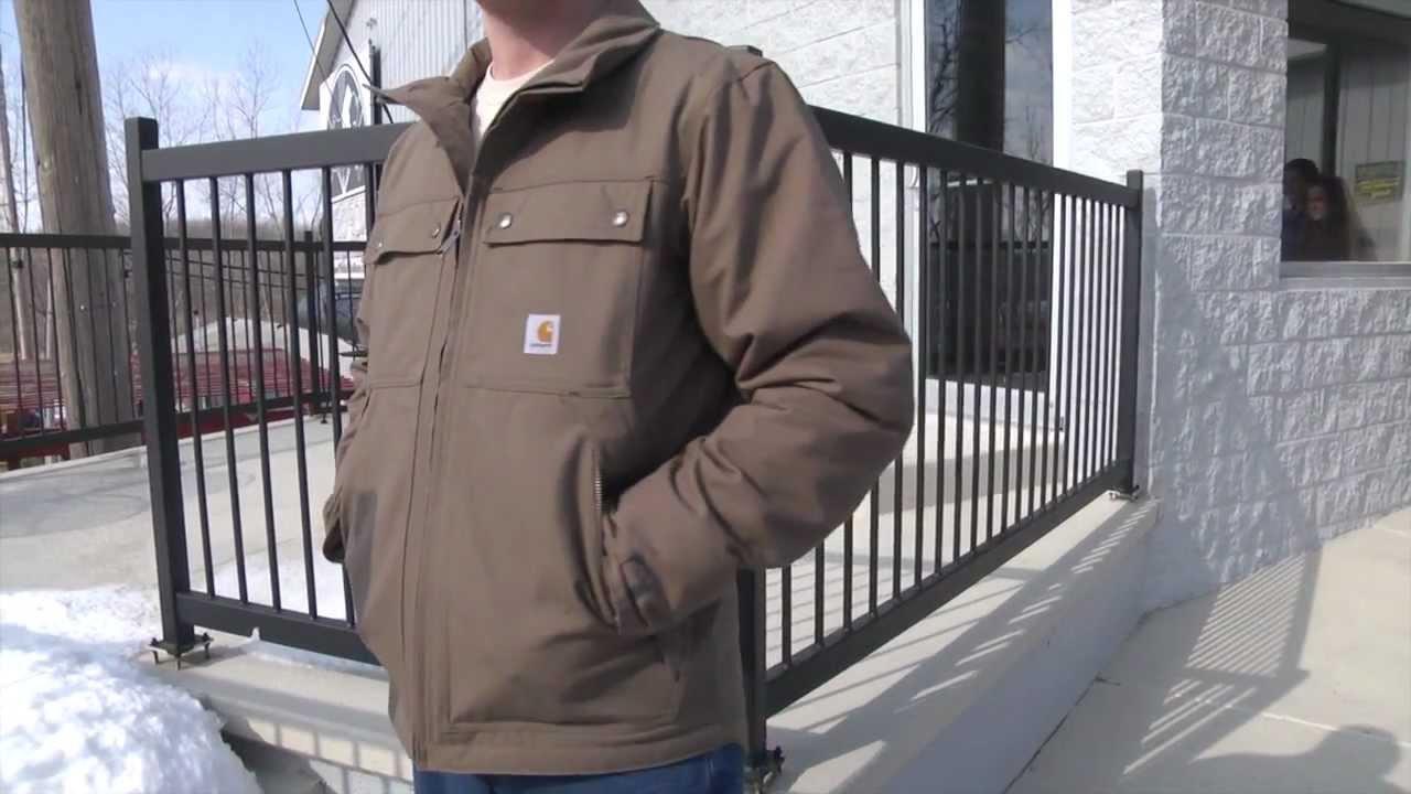 Carhartt Men/'s Quick Duck Jefferson Traditional Jacket