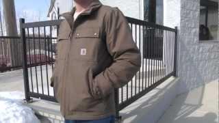 Carhartt 100107 Quick Duck Woodward Traditional Jacket