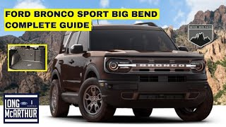 2021 FORD BRONCO SPORT BIG BEND COMPLETE GUIDE