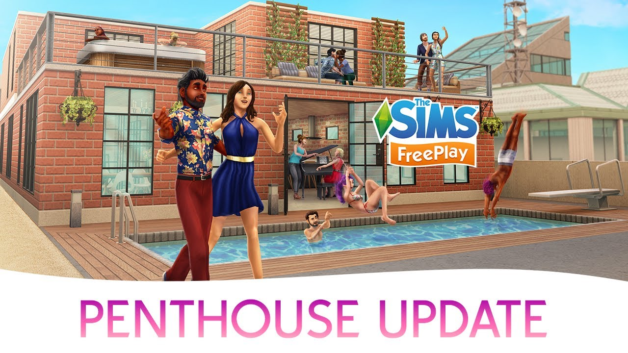 how to get sims freeplay update