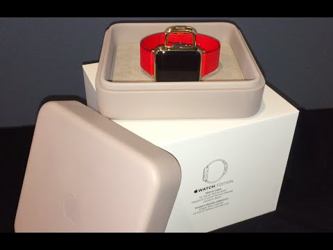 $17,000 Gold Apple Watch Edition Unboxing