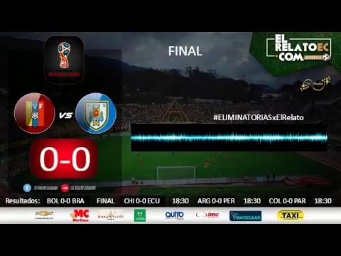 EN VIVO | Venezuela vs Uruguay (narración formato radio propio)