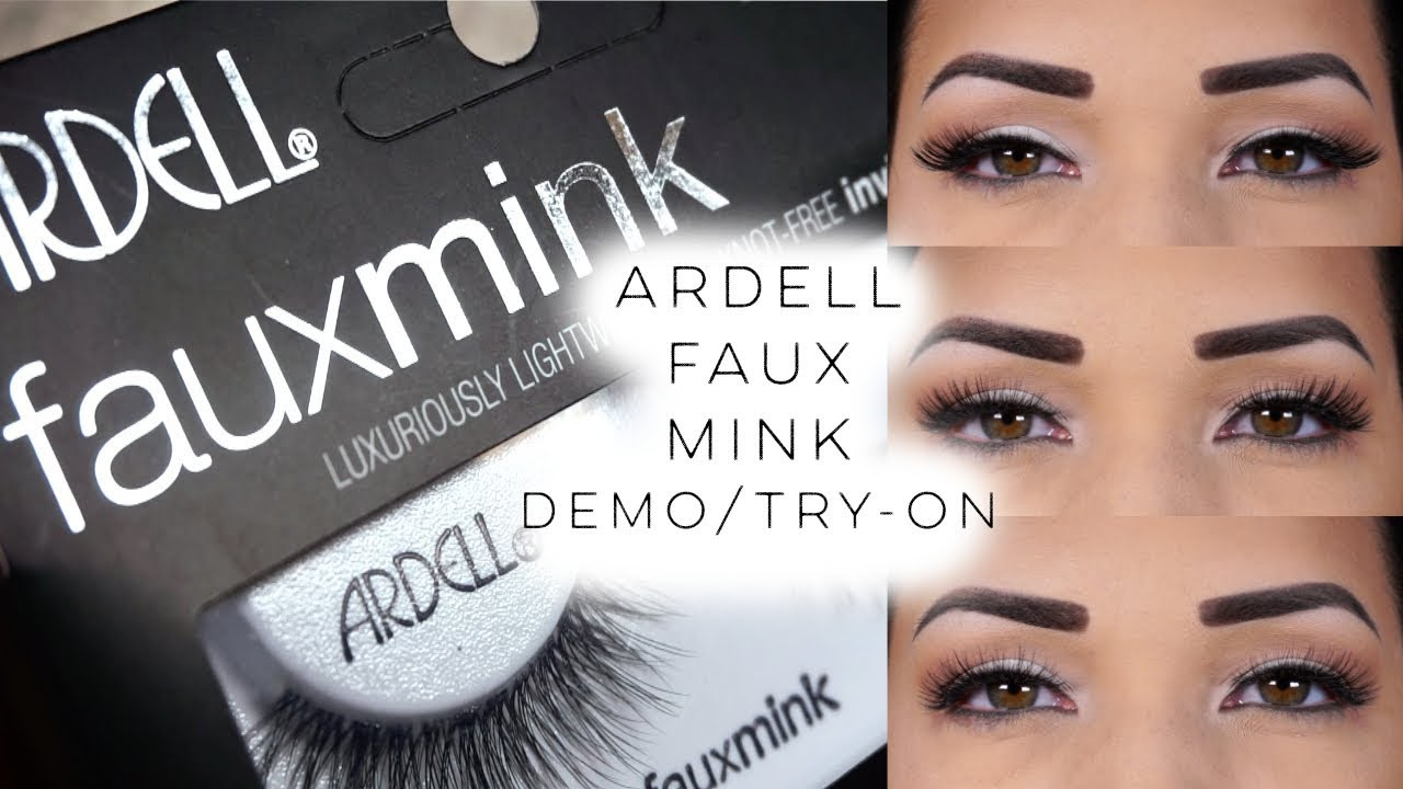 d94871aba85 I'm Back.) Ardell Faux Mink Demo/Try-On! - YouTube