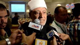 أخبار اليوم |مفتي الديار السابق : الإسلام والسلام وجهان لعملة واحدة