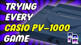 Casio PV-1000 (1983) Library | Trying all 13 Games