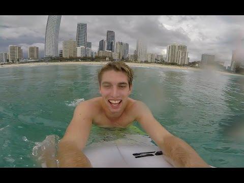 Surfers Paradise Surfing Sesh!