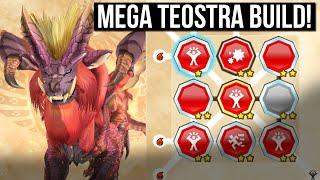 WOMBO COMBO Teostra BUILD! Monster Build in Monster Hunter Stories 2
