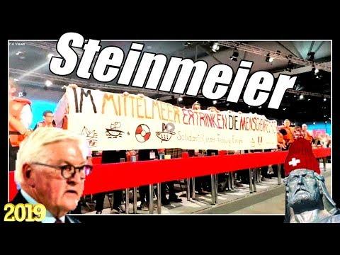 Ver.di Jugend im Schwimmwesten Taumel | Steinmeier für Freiheit | Sea Eye