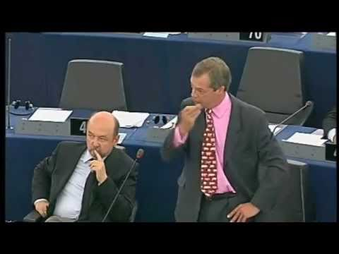 Farage: Isn't the EU quite as bad as the USSR, Mr Tusk? (cc italiano)