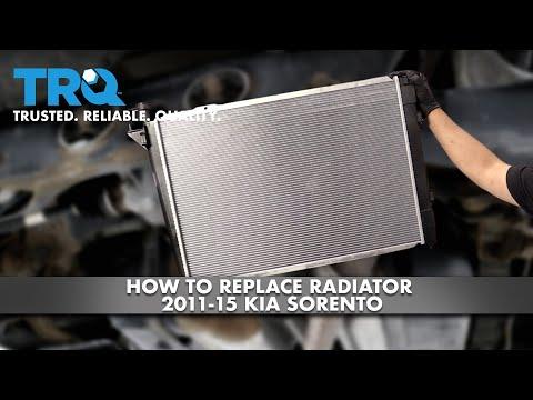 How To Replace Radiator 2011-15 Kia Sorento