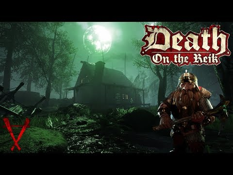 Warhammer Vermintide New DLC - Dwarf Miner on the River Reik - Pickaxe Gameplay
