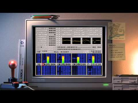 Amiga music: Captain - Space Debris (Dolby Headphone)