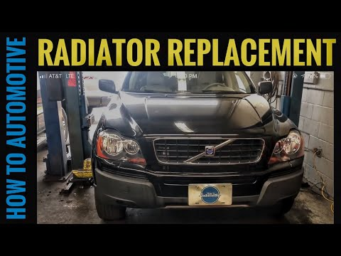 How to Replace the Radiator on a 2002-2014 Volvo XC90 with 2.5L Turbo