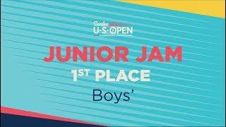 2019 Burton U·S·Open Junior Jam Halfpipe - Boys' 1st Place Run