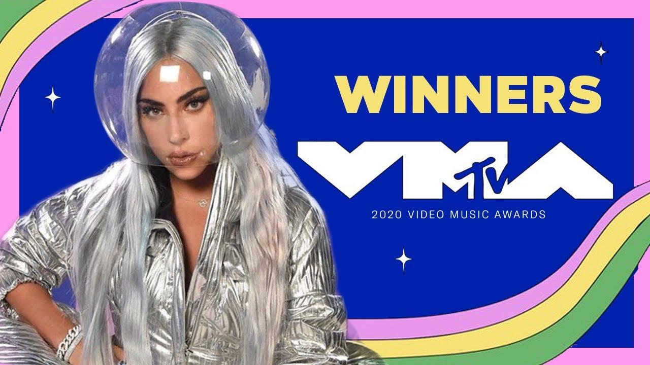 MTV Video Music Awards 2020 | Winners - YouTube