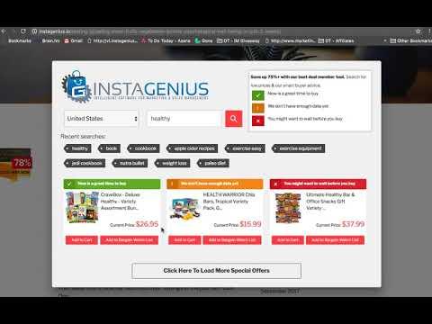 InstaGenius Demo. http://bit.ly/328fiHx