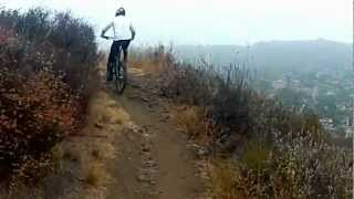 Butte Trail, Wildwood Park, Thousand Oaks, CA - Mountain Bike Trail