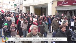 Rassemblement du 11 janvier 2015 - Hommage aux disparus de l'hexagone - Édition 2015 à Avallon (89)