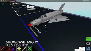 Roblox showcase: Mikoyan I Gurevich MiG-21