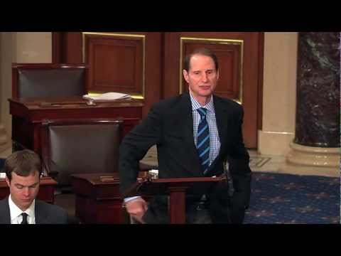 Wyden Floor Remarks on Congressional Oversight of Intelligence Activities