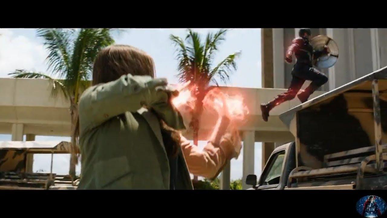 "Download ""Avengers vs Hydra"" Scene - Captain America : Civil War 2016"