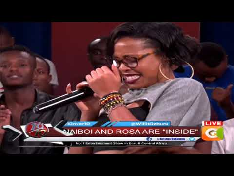 Rosa performing new song 'Inside' featuring Naiboi #10Over10