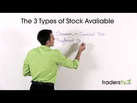 Stock Basics: 3 Different Types of Stock