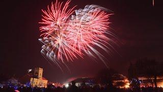 Pokaz fajerwerków w Kutnie 2016/2017