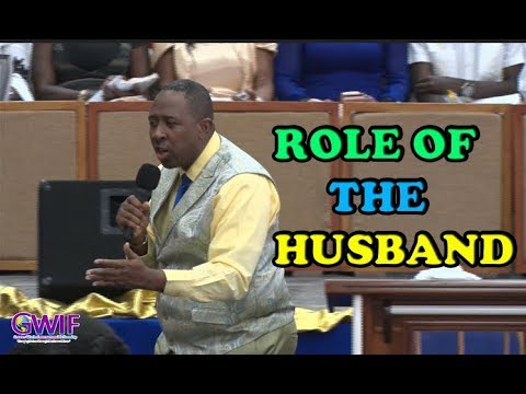 Role Of The Husband  How to be a good husband  Apostle Andrew Scott