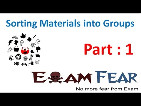 Chemistry Sorting Materials into Groups Part 1 (Introduction) Class 6 VI